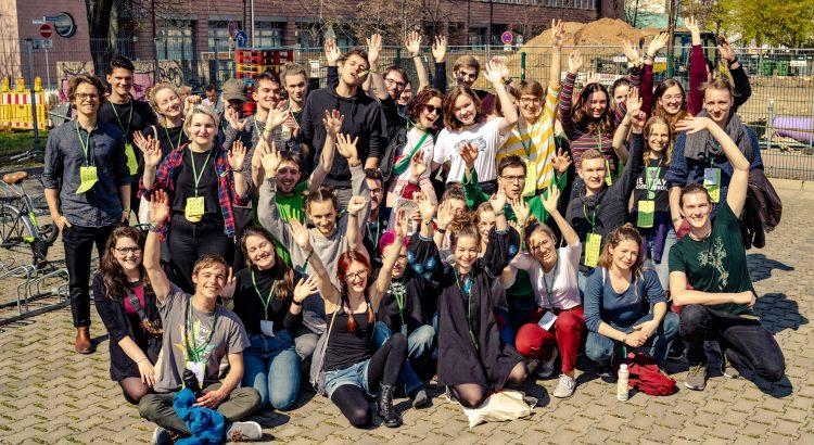 Einige von uns auf dem 52. Bundeskongress im April 2019